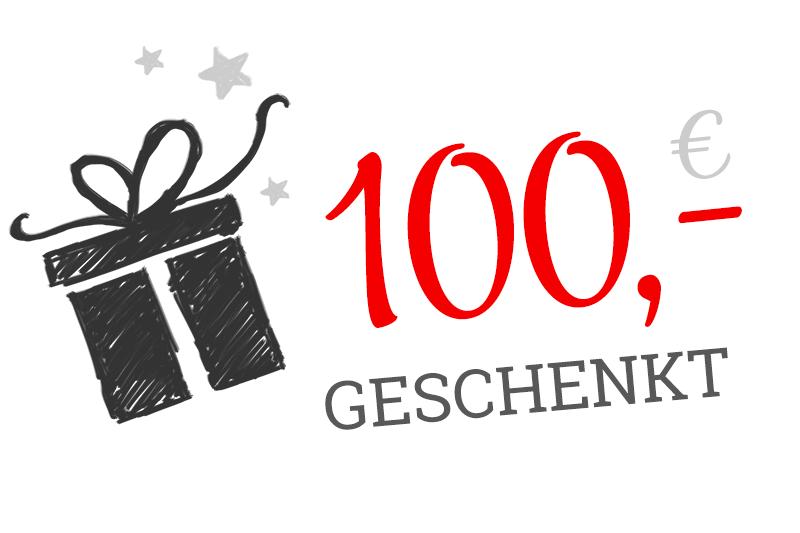 100,- € Provision für eine Empfehlung